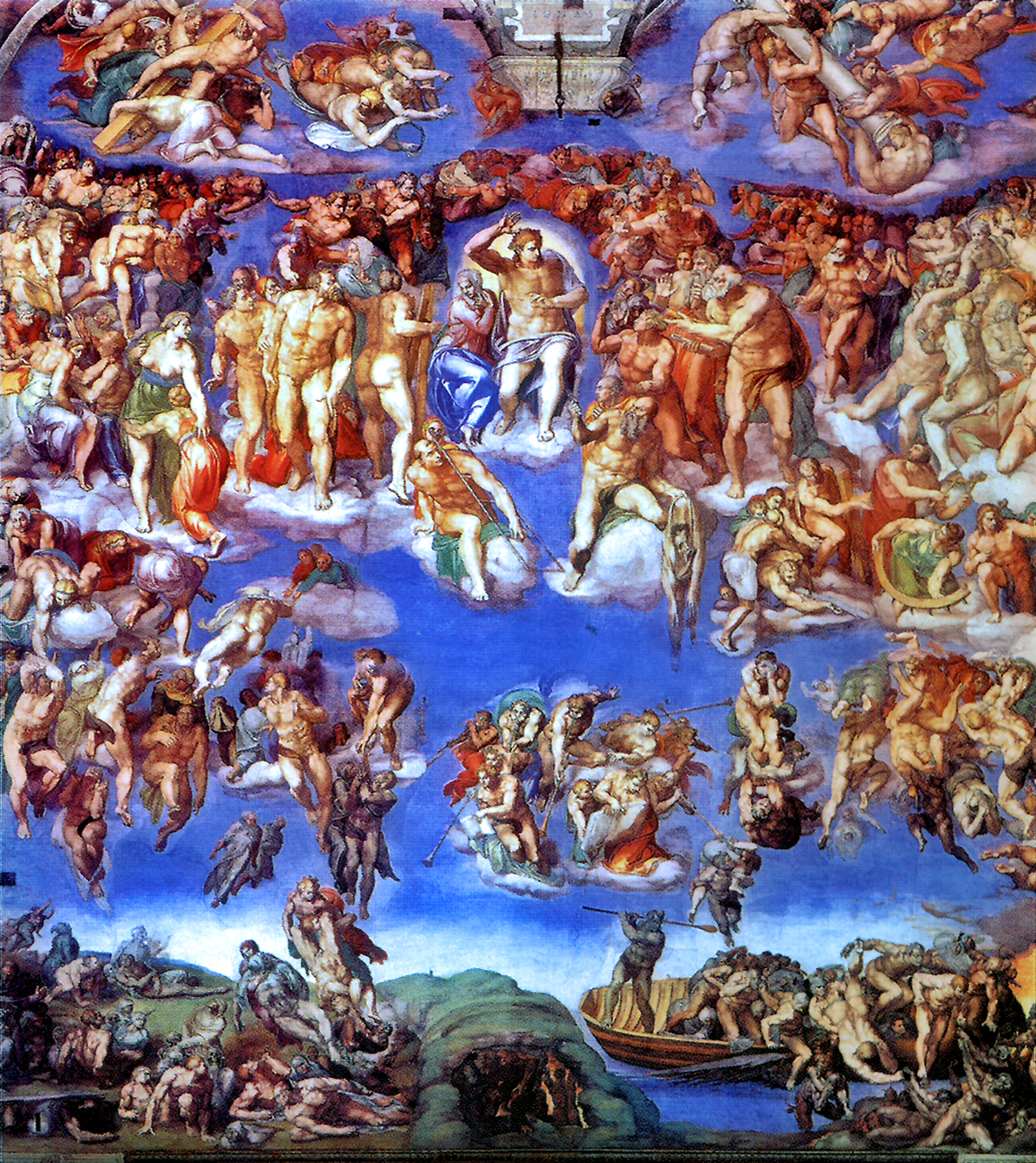 O julgamento final - Michelangelo